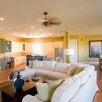 The Savannah living room